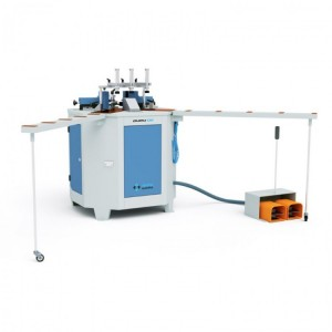 Ozgenc 136 - Crimping machine for closing corners of aluminium profiles of all types