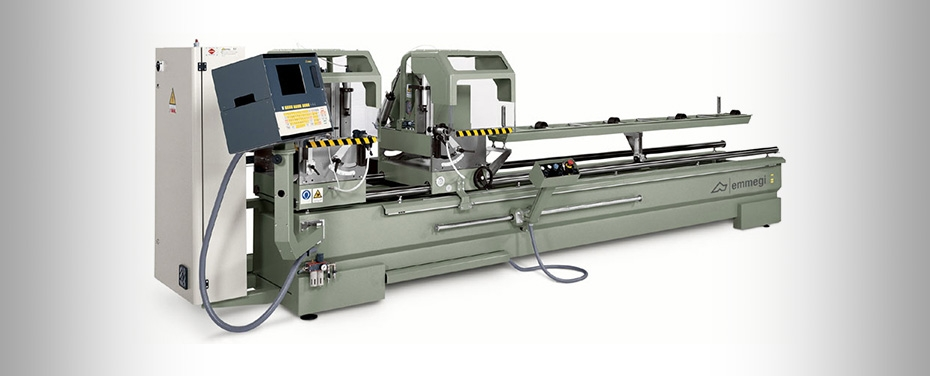 CLASSIC STAR - Electronic double-head cutting off machine