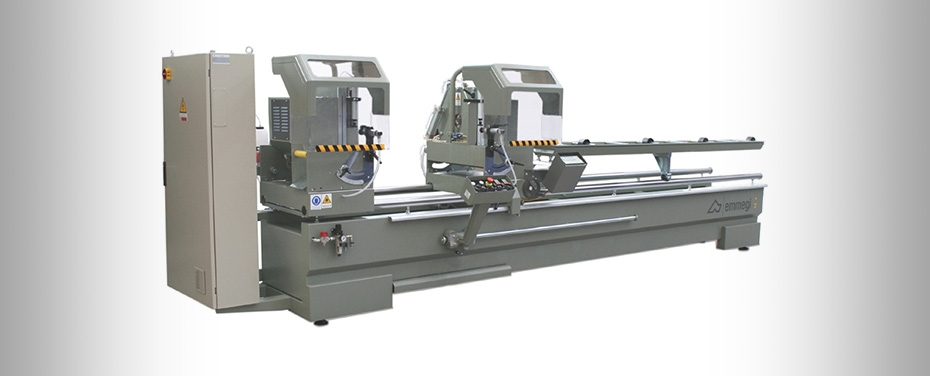 CLASSIC VIS - Double head cutting-off machine