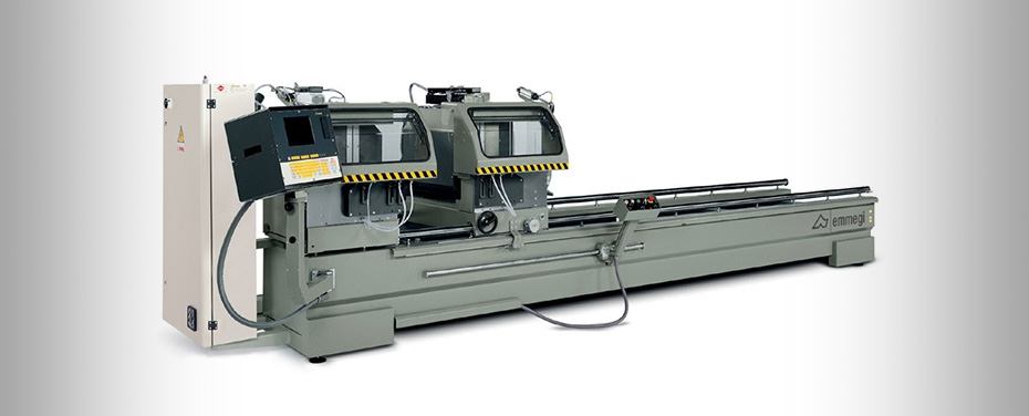 COMBI 5 ASSI STAR - Electronic double-head cutting-off machine