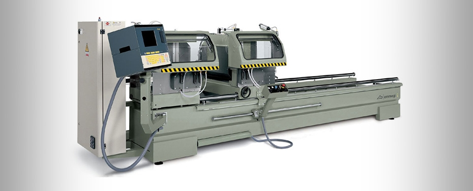COMBI ELECTRA STAR - Electronic double-head cutting-off machine