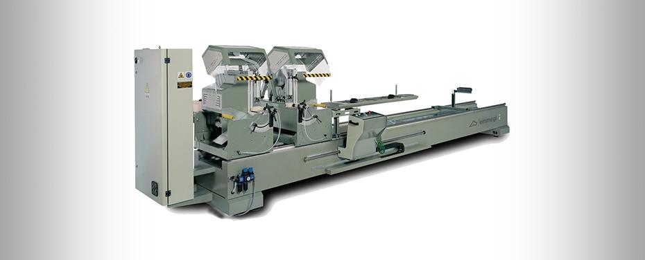 DOPPIA LIBRA - Electronic double-head cutting off machine