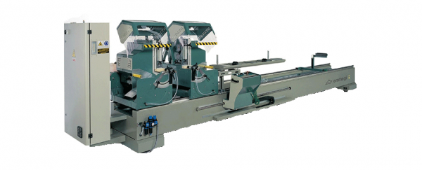 DOPPIA MAGIC - Electronic double-head cutting off machine