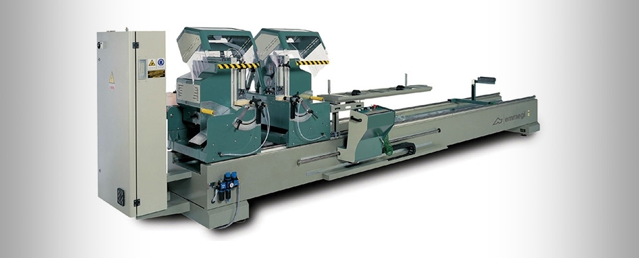 DOPPIA MAGIC - Electronic double-head cutting off machine